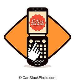 retro cellphone