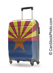 Suitcase with US state flag on it - Arizona - Suitcase...