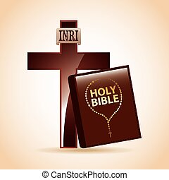 holy bible design, vector illustration eps10 graphic