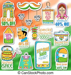 Happy Independence Day shopping sale