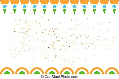 Tricolor India banner for sale and promotion