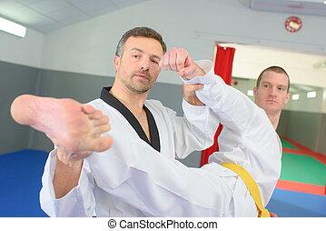 Judo teacher