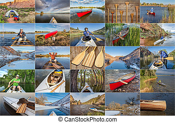 canoe paddling picture collection - picture collection from...