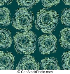Seamless background from Tumbleweed Vector abstract...