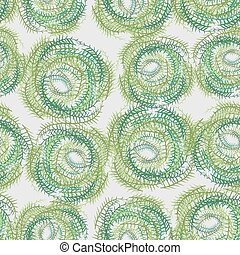Seamless background from a circle Abstract vector background...