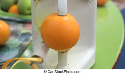 Orange Skin Care - Electric Skin Orange Peeler Machine