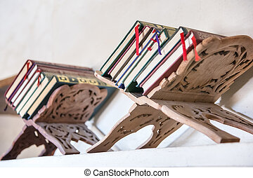 Bookstand in Oman - Image of a arab bookstand in Oman,...