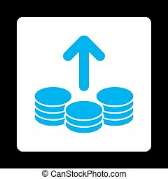 Payout Icon from Commerce Buttons OverColor Set - Payout...
