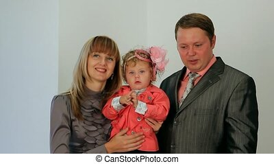 Decent Family - Husband and wife with their baby.