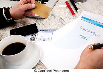 Buying a travel insurance policy