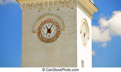 Clock Tower At Railway Station, Simferopol - Clock tower...