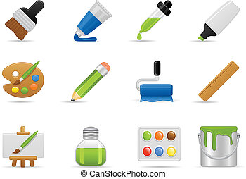 Painting Icon Set - Painting Icons