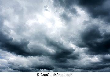 Dark Sky - Digital photo taken in Villa Serana, Uruguay,...