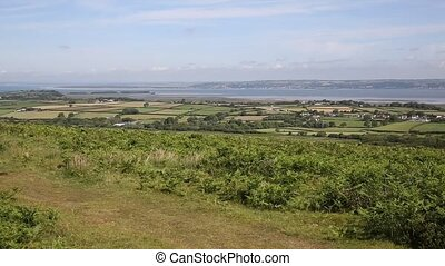 The Gower peninsula South Wales PAN