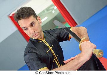 Sword fighter