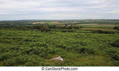 Welsh countryside from Ryers Down - View of Welsh...