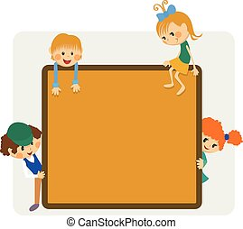 Kids frame notice