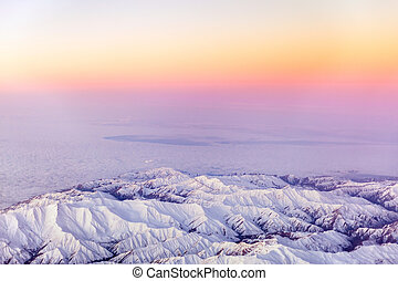Aerial Photo of Mount. Beautiful View - The Aerial Photo of...