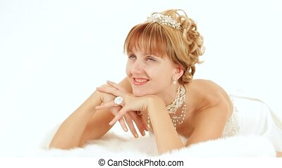 Elegantly Dressed Woman - Elegant girl with beautiful jewels...