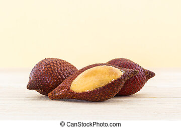 Salak Palm fruit, tropical fruit - Salak Palm fruit,...
