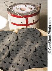 carbón, Briquetas,