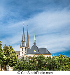 Notre-Dame Cathedral, Luxembourg is the Roman Catholic...