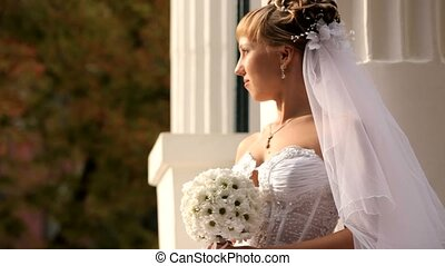 Bride Looks At The Sun - The bride looks at the sun then...