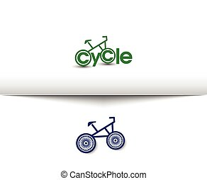 Cycling and Biking Logo - Cycling and Biking Web Icons and...