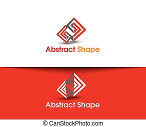Abstract Shape Logo