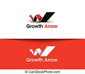 Growth Arrow  Logo