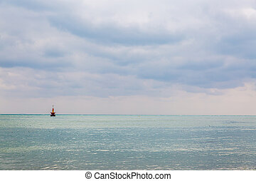 Topical sea background