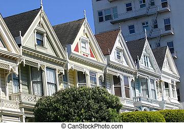 Painted Ladies in San Francisco - The Painted Ladies of San...