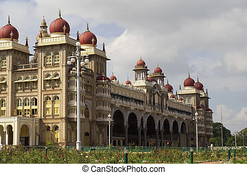 maharajas palace at mysore - the royal palace of the...
