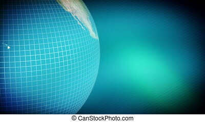 Soft Blue Green Earth Background