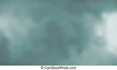 Blue gray soft flowing loop