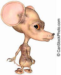 Toon Rat - 3D Render of an Toon Rat