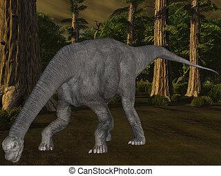 Camarasaurus-3D Dinosaur - 3D Render of an Camarasaurus-3D...