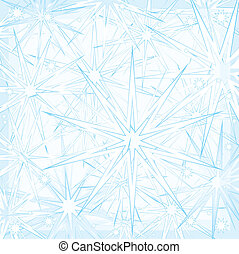 Frosty background - Christmas background of blue colour from...