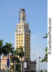 The Freedom Tower in Miami, Florida