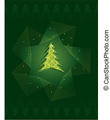 Green Diamond Christmas tree
