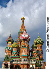 Saint Basil's Cathedral,Moscow,Russia - The Cathedral of...