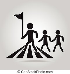 pedestrian crossing sign. - pedestrian crossing sign, school...