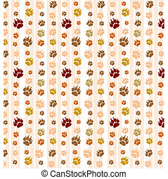 abstract background for desktop with cat footprints or...