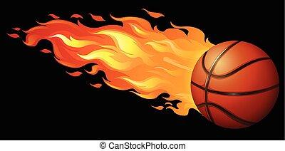 Fire basketball