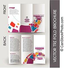 Corporate Business Tri-Fold Brochure - Corporate Business...