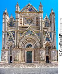 Cathedral of Orvieto (Duomo di Orvieto), Umbria, Italy