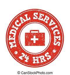 Medical services stamp