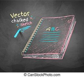 School notebook.