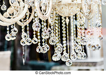Decoration on the chandelier - Luxury Crystal Chandelier....
