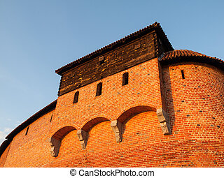 Guard tower of Malbork Castle - Guard tower of Teutonic...